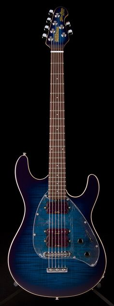 MUSIC MAN Steve Morse Y2D Guitar Purple Burst w/ Matching Headstock | Guitar Center