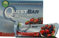 Quest Nutrition QuestBar Protein Bar Mixed Berry Bliss