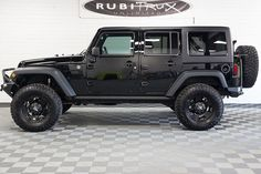 Pre-Owned 2014 Jeep Wrangler Unlimited Black 2014 Jeep Wrangler, Jeep Jk, Jeep Truck, Jeep Wrangler Unlimited, Rock Rock, Hard Rock, Fords 150, Jeep Wheels, Shopping
