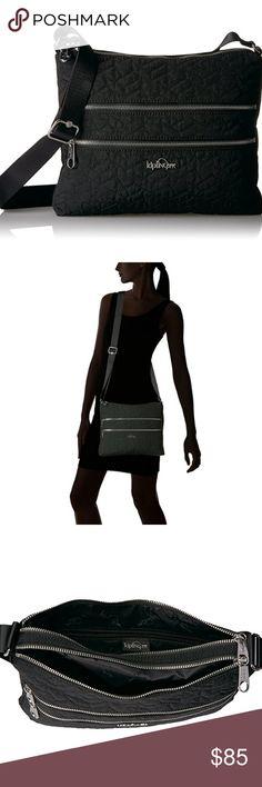c31c2b8f1aef Kipling Womens Alvar - New Nylon Imported polyester lining Zipper closure  Adjustable shoulder strap; wear