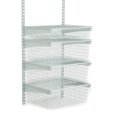 Shop ClosetMaid ShelfTrack 4-Drawer Wire Kit - White (52815) at Lowe's Canada. Find our selection of wire closet organizers at the lowest price guaranteed with price match + 10% off.