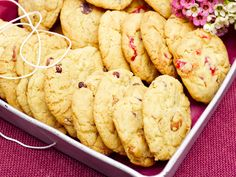 These cookies are a one-bowl wonder. And you can even customise them. Add white, milk or dark chocolate. Or even nuts and glace cherries. Just yum!