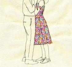 Print+of+an+embroidered+illustration+by+Sarah+by+SewSarahWalton,+$32,00