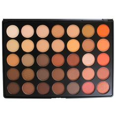 35 Colour Nature Glow Eye Shadow Palette (35O) by Morphe Brushes ($28) ❤ liked on Polyvore featuring beauty products, makeup, beauty, morphe makeup, morphe cosmetics and palette makeup