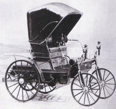 1892 Daimler Vehicle ✏✏✏✏✏✏✏✏✏✏✏✏✏✏✏✏ IDEE CADEAU / CUTE GIFT IDEA ☞ http://gabyfeeriefr.tumblr.com/archive ✏✏✏✏✏✏✏✏✏✏✏✏✏✏✏✏