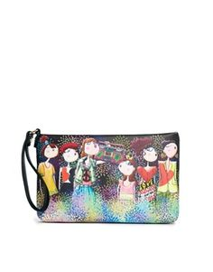 Love Moschino Charming Girls Clutch Bag