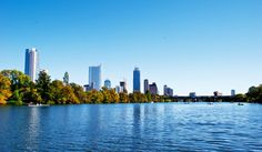 #Austin Austin cityscape from the lake