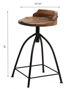 Manzel Furniture products are all handcrafted with sustainable and legally procured solid Mango, Rosewood, Acacia and reclaimed Teak wood. Wooden Stools, Teak Wood, Foot Rest, Bar Stools, Counter, Solid Wood, Upholstery, House Ideas, Chairs
