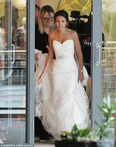 1000 images about michelle keegan on pinterest for Michelle keegan wedding dress