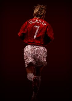 David Robert Joseph Beckham, OBE is a former English soccer player. Charming Man, Football Wallpaper, David Beckham, Print Artist, Football Players, Manchester United, Joseph, Basketball, Training