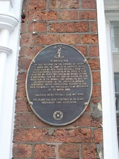 Sheffield United Birthplace - Sheffield by Bolckow, via Flickr Sheffield United Football, Sheffield United Fc, British Football, Best Football Team, Bill Shankly, Bramall Lane, Yorkshire England, Liverpool Fc, Amazing Places
