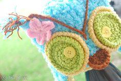 Crochet Hat Ear Flaps Pattern | Beanie Hat