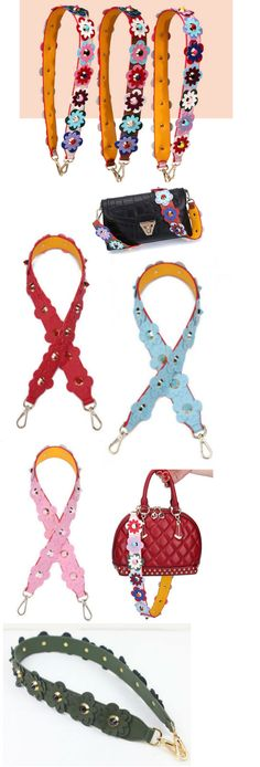 Replacement Shoulder Strap, Strap with carabiner, Flower strap, bag charm…