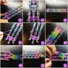 création de bracelets Loom Bands