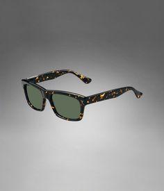 YSL Square Frame Sunglasses with Tortoise Shell Frame - Sunglasses – Men – Yves Saint Laurent