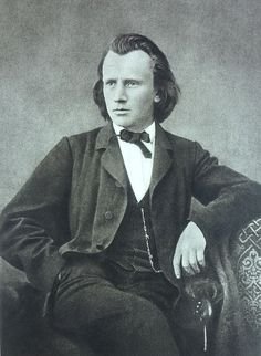 Johannes Brahms, German composer and pianist, was born May 7, 1833 in Hamburg, Germany, and died April 3, 1897 in Vienna, Austria.