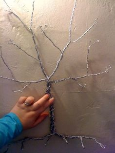 "Using this as a base to create my own ""December Tree"" by Suart Gurtan - can't afford the $860 orginal"