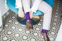 Paarse sokken, bruiloft Zuid-Limburg, Viva Laterne, Maastricht, Bruidsfotografie