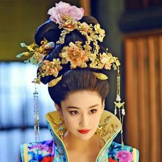Chinese Design, Chinese Style, The Empress Of China, Art Beauté, Beautiful Chinese Women, Chinese Movies, Japanese Hairstyle, Beauty Portrait, Mademoiselle