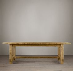 Farmhouse Salvaged Wood Rectangular Extension Tables | Restoration Hardware