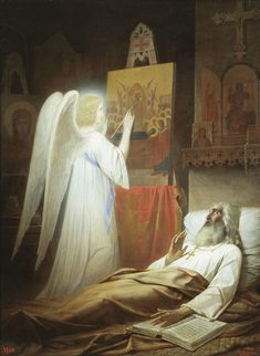 Alipy, the Icon Painter of Pechora (Vasily Raev - ) Russian Icons, Russian Art, Religious Paintings, Religious Art, A4 Poster, Poster Prints, Jesus Pictures, Gif Animé, Catholic Art