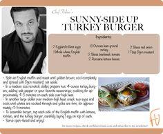 Sunny-Side Up Turkey Burger #VeteransDay