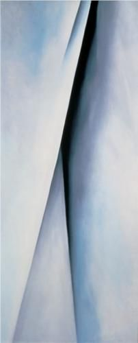 Georgia Okeefe  Abstraction White.  One of her more sensual work |Pinned from PinTo for iPad|