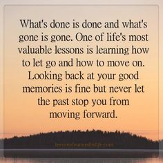 Lessons Learned in Life | A valuable lesson.