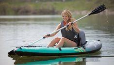 Sevylor QuikPak Coverless Sit On Top Kayak - Blue Kayak Camping, Kayak Fishing, Fishing Boats, Kayak Cart, 1 Person Kayak, Kayak For Beginners, Kayak Seats, Inflatable Kayak