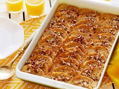 Overnight French Toast Bake #myplate #starch