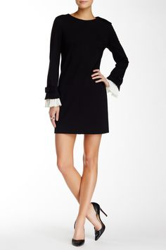 Willa Long Sleeve Pleated Cuff Mini Dress by CeCe by Cynthia Steffe on @HauteLook