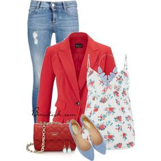 Nora by wulanizer on Polyvore featuring moda, Cyberjammies, STELLA McCARTNEY, Oasis and Kendra Scott