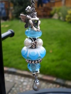 Trollbeads Fantasy Necklace with the Fairy sitting on top - must give this one a try with my little Fairy Guy