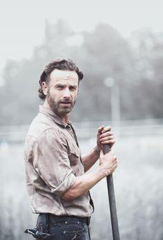 "Rick Grimes #TheWalkingDead 4x02 ""Infected"""