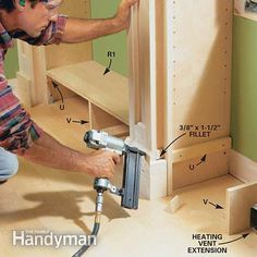 How to Build a Built-in Bookcase | The Family Handyman