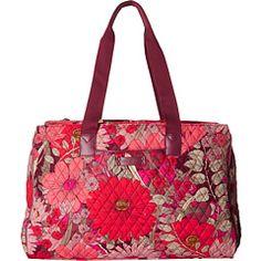 Vera Bradley Luggage Triple Compartment Travel Bag