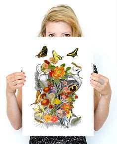 Hey, I found this really awesome Etsy listing at https://www.etsy.com/listing/242027417/springtime-on-me-white-art-a3-poster