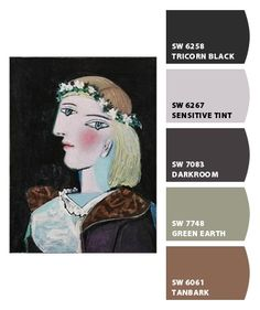 "Sherwin Williams ""Chip It"" Color Palette"
