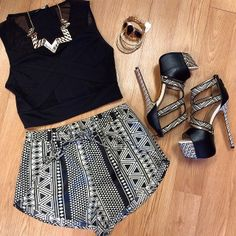 Loving this outfit | All found at @Vamped Boutique