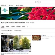 Exciting news! You can now follow ELM on YouTube. The channel will keep up with the latest projects have informative tutorials and present interviews with people in the industry. Follow the link below to check it out. We hope you enjoy!  https://www.youtube.com/channel/UC3p8bQwL03aWM1DGi3dgk1Q  #ELM #YouTube #sustainability #educating #tutorials #projectupdates #interviews #videos #subscribe #ecology #landscape #tree #plants #soil #nature #natural #management #expandyourknowledge #gogreen…
