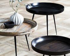 Bowl Table fra Mater Design. Smukt sidebord til stue og køkken mm. – 2RETHINK