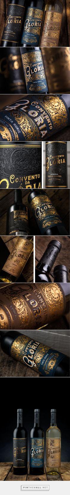 Convento da Gloria Wine Packaging by MA Creative Agency | Fivestar Branding – Design and Branding Agency & Inspiration Gallery