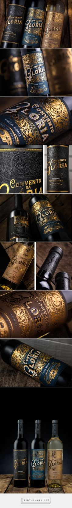 Convento da Gloria Wine Packaging by MA Creative Agency | Fivestar Branding – Design and Branding Agency & Inspiration Gallery