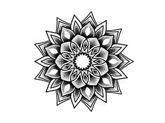 - Best Picture For Mandala Tattoo design For Y Geometric Mandala Tattoo, Lotus Mandala Tattoo, Tattoos Mandala, Mandala Tattoo Design, Mandala Dots, Tattoo Designs, Finger Tattoos, Leg Tattoos, Body Art Tattoos