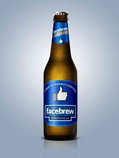 iBeer, Facebrew o Just Drink It, marcas famosas convertidas en cervezas