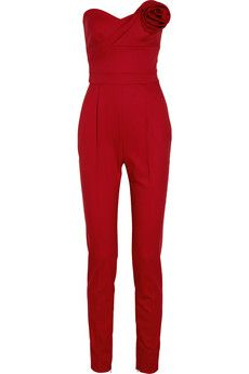 valentino jumpsuit. I know I wouldn't be able to pull this off but I love this jumpsuit.