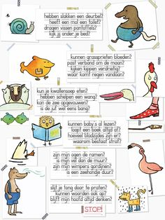Aan de muur - Poëzieposters - poëzieposter Hebben slakken een deurbel - Plint Learn Dutch, Poetry For Kids, Spelling Games, School Info, 21st Century Skills, School Posters, School Items, Classroom Language, Gifted Kids