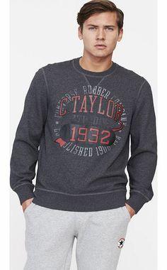 Creative Words, Hoody, Contemporary Style, Converse Chuck Taylor, Sportswear, Men's Fashion, Men Sweater, Men Casual, Sweatshirts