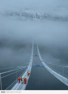 Norway's Sky Bridge