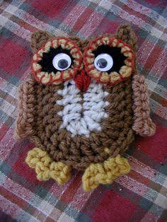 DOWNLOADABLE PDF PATTERN Hootie Crochet Pattern
